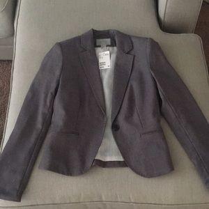 H&M Grey Blazer. NWT.
